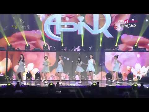 K POP( A Pink )  NoNoNo + Awards SMA 20140124