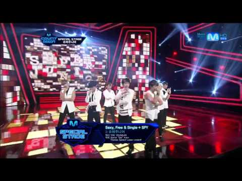 August 2, 2012 Super Junior Special Stage Mr. Simple + Sexy, Free & Single + SPY Teaser