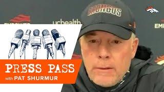 'I think he's made great progress': OC Pat Shurmur details Drew Lock's growth