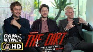Douglas Booth, Iwan Rheon & Machine Gun Kelly Interview for The Dirt