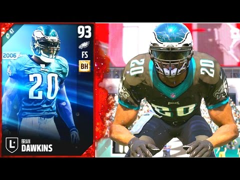 BRIAN DAWKINS! WEAPON X INTIMIDATING OPPONENTS!! - Madden 17 Ultimate Team New Music Video