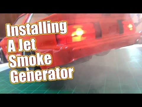 Give Your RC The Smoking Tire Look - Tips To Install A Burn Effect V3 Smoke Generator | RC Driver
