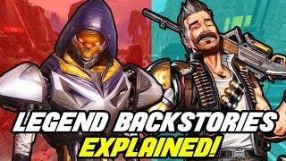 Apex Legends The Origin Story For Every New Legend - Lore Facts, Theory Crafting and More!