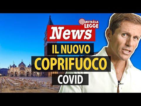 COVID: IL NUOVO COPRIFUOCO   avv. Angelo Greco