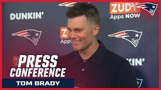 """Tom Brady: """"Anytime you win on the road in the division it's good."""""""