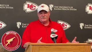 Andy Reid talks Chiefs vs. Jaguars  (NFL Week 1 2019)