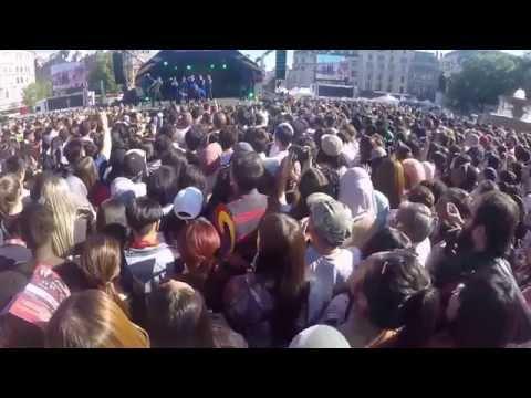 Jinjo Crew - London Korean Festival 2015 (Trafalgar square)