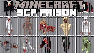 Minecraft DANGEROUS SCP PRISON MOB MOD / DON'T ENTER JAIL WITH SCP 096 !! Minecraft Mods