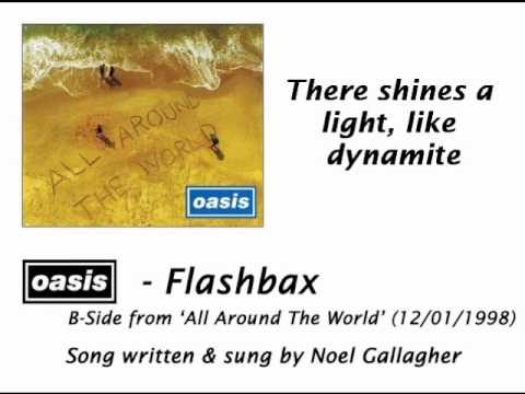 Oasis - Flashbax [HQ Audio + Lyrics]