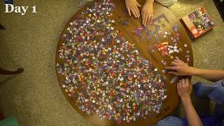 1000 Piece Puzzle in 3 Minutes