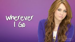 Hannah Montana - Wherever I Go ft. Lily (Lyrics) HD