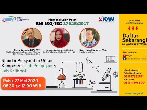 https://youtu.be/DMCpN75Q5oIMengenal Lebih Dekat SNI ISO/IEC 17025:2017