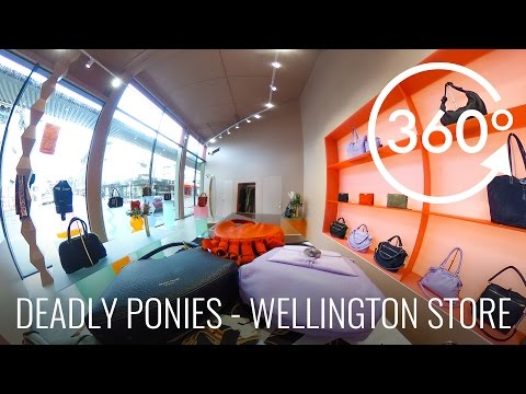 Deadly Ponies - Wellington Store in 360°