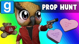 Gmod Prop Hunt Funny Moments - Date Night and Panda Malfunction (Garry's Mod)