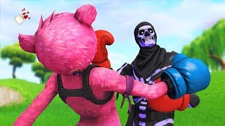 this Fortnite clan challenged us to a clan war...