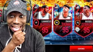 CONF FINALS PACK OPENING & 95 OVR SEMIFINALS MASTERS! NBA Live Mobile 16 Gameplay Ep. 113