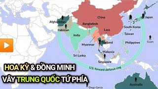 Trung Quốc bị BAO VÂY TỨ PHÍA bởi Hoa Kỳ và Đồng Minh