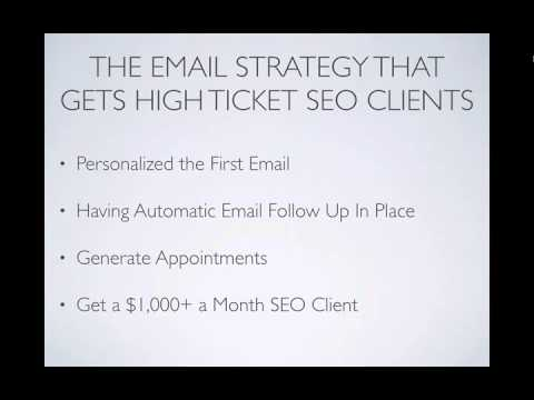 How to Get Local SEO Clients With 1 Simple Email