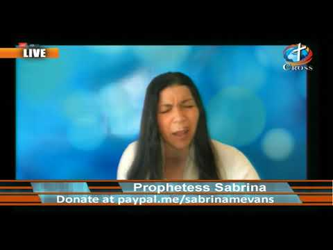 Prophetess Sabrina M. Evans ( it's Supernatural it's Real ) 04-15-2020