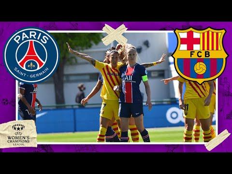 PSG vs FC Barcelona | UEFA WOMEN CHAMPIONS LEAGUE HIGHLIGHTS | 4/25/2021 | beIN SPORTS USA