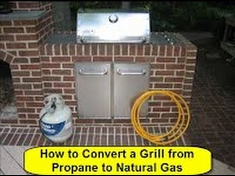 Can You Convert A Propane Grill To Natural Gas