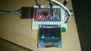 FFT arduino MEGA 2560 - bobby tri