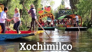 Xochimilco - Fiesta Every Day on the Canals of Mexico City!