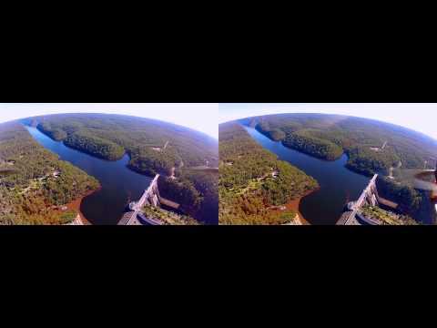 3D GoPro Quadcopter FPV - Warragamba Dam