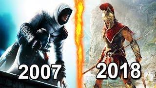 Все ЧАСТИ Assassins Creed - от ХУДШЕЙ к ЛУДШЕЙ (2007-2018)