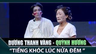 Phi Nhung phấn khích đứng dậy vỗ tay khen ngợi 'Quỳnh Hương - Dương Thanh Vàng'