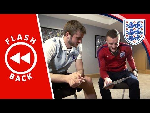 Dier & Vardy watch back England's 3-2 Germany win   FLASHBACK
