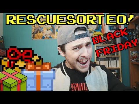#RESCUESORTE y ofetas BLACK FRIDAY!!