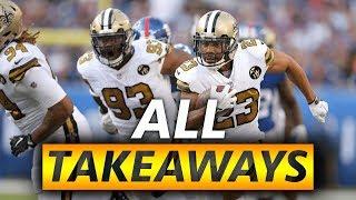 All Saints Takeaways 2018-2019