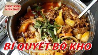 Bí Quyết Nấu BÒ KHO Bánh Mì Ngon Không Giấu Nghề | Nam Việt 660 - Món Ngon Miền Tây