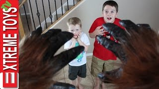There was a Monster in the House! The Legendary Creature Toy Surprise.