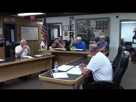 Peru Town Board Meeting  6-28-21