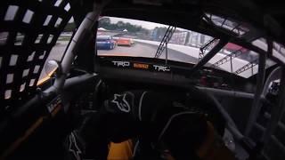 Erik Jones Helmet Cam+Driver/Crew Audio at New Hampshire Motor Speedway