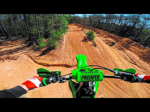 First Motocross Jumps with NO Throttle