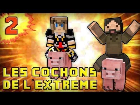 minecraft : les cochons de l extrême ! - episode 2