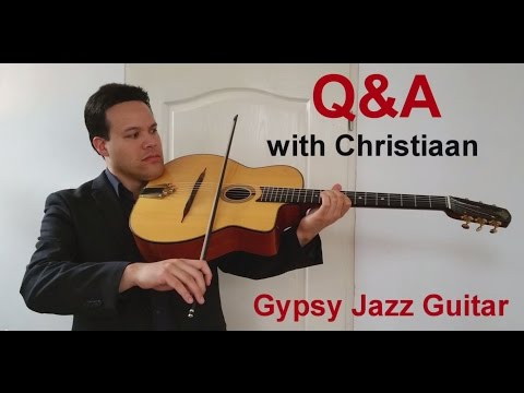 Q&A with Christiaan - Episode 3 - Basic Rhythm Chords