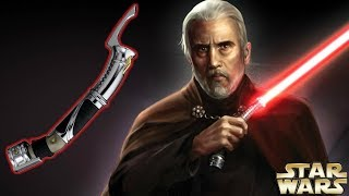 Why Dooku's Lightsaber Is The MOST DEADLY Lightsaber In ANY Star Wars Movie