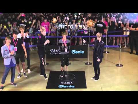 120903 Genie with SMARTIST  Luhan + Kai dance