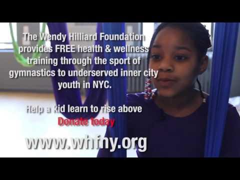 Wendy Hilliard Foundation's kids try AntiGravity® Kids