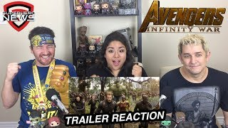 Marvel Studios' Avengers: Infinity War Official Trailer Reaction and Review