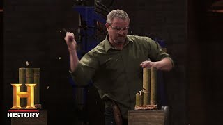 Forged in Fire: Friction Folder Tests (Season 5, Episode 4) | History
