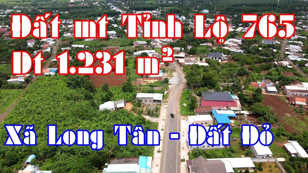 NVT2125 bán đất MT Tỉnh lộ 765 ngay gần UBND xã Long Tân, BRVT có 500m2 thổ cư video