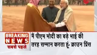 Breaking News: PM Narendra Modi is my older brother, says Mohammed bin Salman