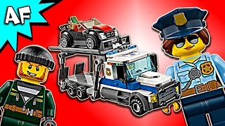 Lego City Police AUTO TRANSPORT HEIST 60143 Speed Build