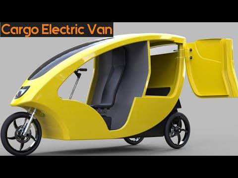 Cargo and Food Deliveries Electric Vehicle Lease - Mellow Vans