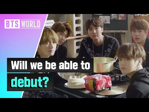 "[BTS WORLD] ""Will we be able to debut?"""